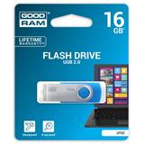 16 GB . USB kľúč . GOODDRIVE Twister Modrá