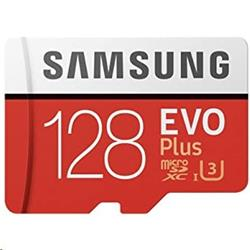 256 GB . microSDXC karta Samsung EVO Plus + adapter