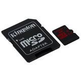 32 GB . microSDHC/SDXC karta Kingston UHS-I U3 + adapter (90R/80W)