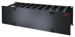 """3U Horizontal Cable Manager, 6"""" Fingers top and bottom"""