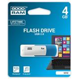 4 GB . USB kľúč . GOODDRIVE COLOUR MIX Modro-biela