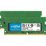 4GB DDR4 2400 MT/s (PC4-19200) CL17 SR x8 Crucial Unbuffered SODIMM 260pin
