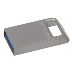 64 GB . USB 3.1 kľúč . Kingston DTMicro USB 3.1/3.0 Type-A metal ultra-compact drive