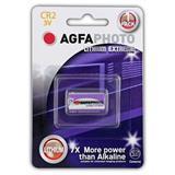 AgfaPhoto lithiová foto batéria 3V, CR2, blister 1ks