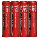 AgfaPhoto zinková batéria 1.5V, R03/AAA, shrink 4ks