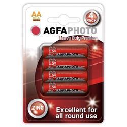 AgfaPhoto zinková batéria 1.5V, R06/AA, blister 4ks