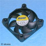 AKASA Black Fan - 4cm vetrák, čierny