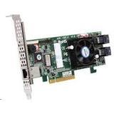ARECA ARC-1226-8I 8-port SAS/SATA (2xSFF8643), 1GB cache,RAID 0/1/1E/3/5/6/10/30/50/60/JBOD,PCI-E 3.0 x8,LP