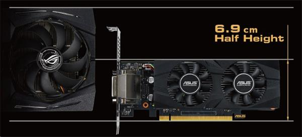 ASUS GTX1650-O4G-LP-BRK 4GB/128-bit GDDR5, DVI, HDMI, DP