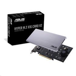 ASUS HYPER M.2 X16 CARD V2 - rozširujúca karta pre 4x M.2 SSD