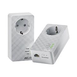 ASUS PL-E52P Duo Home Plug AV 600Mbps Powerline Adapter