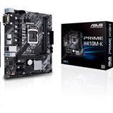 ASUS PRIME H410M-K soc.1200 H410 DDR4 mATX D-Sub DVI-D