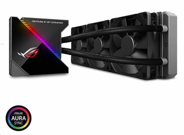 ASUS ROG RYUJIN 360 vodné chladenie CPU, OLED, Aura Sync RGB