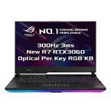 "ASUS ROG Strix SCAR 15 G533QM-HF024T AMD R7 5800H 15.6"" FHD matný 300Hz RTX3060/6G 16GB 512GB SSD WL BT W10 CS;NumPad"