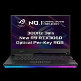 """ASUS ROG Strix SCAR 15 G533QM-HF093T AMD R9 5900HX 15.6"""" FHD matný 300Hz RTX3060/6GB 16GB 512GB SSD WL BT W10 CS;NumPad"""