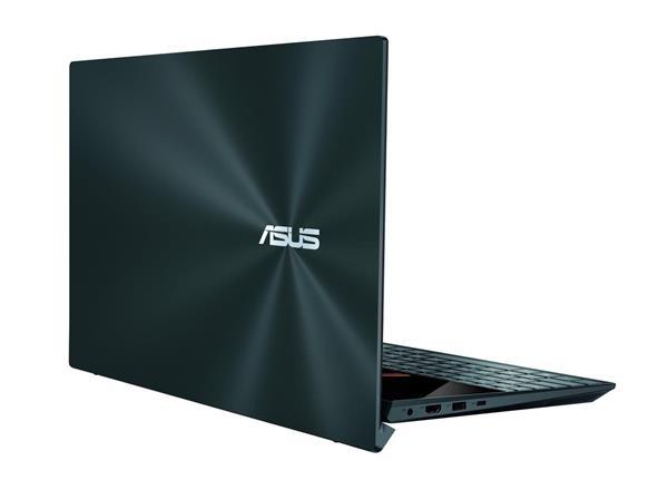 """ASUS Zenbook Duo UX482EA-HY071T Intel i7-1165G7 14,0"""" FHD Touch UMA 16GB 1T SSD WL BT Cam W10 modrý;ScreenPad +"""