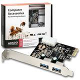 AXAGO PCEU-23E PCI-Express adaptér 2x USB3.0 ETRON