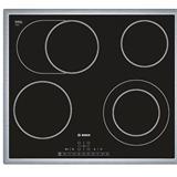 BOSCH_60cm, sklokeramika HighSpeed, 4 zóny - z toho 1x dvouokruhová a 1 rozšiřitelná na pečicí zónu, 4x ukazovateľ zost.
