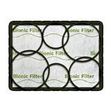 BOSCH_BionicFilter pre BSGL5,3…Inovatívny filter eliminujúci nepríjemné pachy vznikajúce pri vysávaní. Jemne parfumovaný
