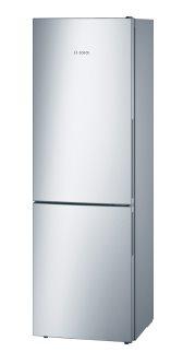 BOSCH_Chladnicka 186 cm, chlad. 213l, mraz. 94l, 226 kWh/365 dni LED-displej A++ InoxLook
