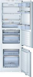BOSCH_Chladnicka Ploche panty chlad. 132l, NoFrost mraz. 62l VitaFresh 57l 250 kWh/365 dni, A++ LED nika: 178 cm