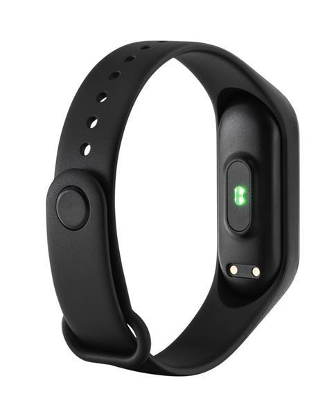Canyon CNE-SB01BN smart hodinky, Bluetooth, farebný LCD 0.96´´, IP67, merač tepu, 5-šport režim, dlhá výdrž batérie