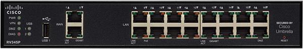 Cisco RV345P Dual WAN Gigabit VPN Router
