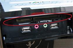 Čítačka kariet pre MC8102 / MC8107, čierna