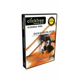 CLICKFREE 10 DVD music back up 4,5 GB