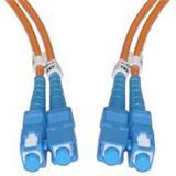 CNS Optický duplex Patch kábel 50/125, SC/SC, OM2 1m