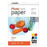 ColorWay Fotopapier Matný 190g/m,50ks,10×15