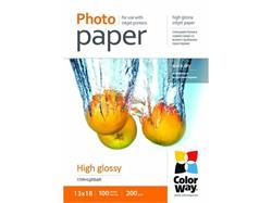ColorWay Fotopapier Vysoko lesklý 200g/m,100ks,13x18