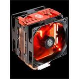 Coolermaster chladič CPU Hyper 212 LED Turbo red, univ. socket