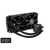 Coolermaster vodný chladič CPU Nepton 280L, silent, 2x140mm fan 2011/1366/1155/1150/1151/AM3+/AM3/AM2/FM1/FM2