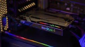 Creative Sound BlasterX AE-5, herná zvuková karta PCIe interná