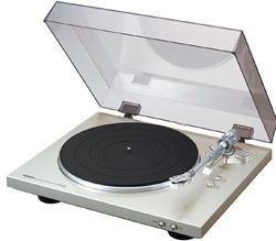 DENON DP 300F gramofón - Black