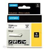 DYMO Vinylová páska 12 mm x 5,5 m, biela/čierna