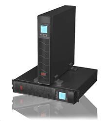 EAST UPS 2000VA rack/tower, čistý sinusový výstup, RJ45, USB data