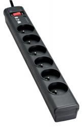 EATON Prepäťová ochrana - predlžovací kábel Protection Strip 6 FR, 1m