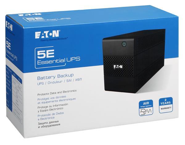 EATON UPS 1/1fáza 1500VA, 5E 1500i USB 6x IEC, Line-interactive