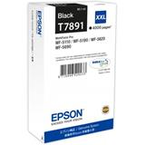 Epson atrament WF5000 series black XXL - 65.1ml