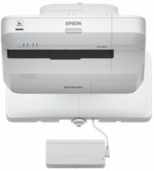 Epson projektor EB-1460Ui, 3LCD, WUXGA, 4400ANSI, 16000:1, USB, HDMI, LAN, MHL, WiFi - upltra short