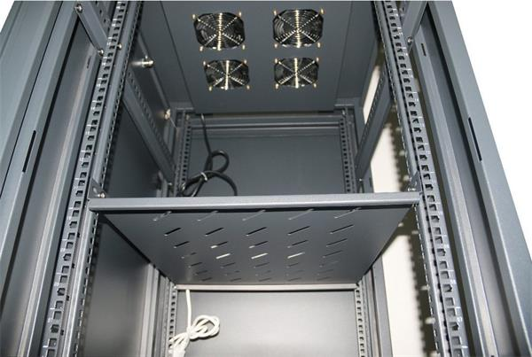 """Eurocase stojanový skriňový rozvádzač GB6822, 22U / 19"""" 600x800x1093mm"""