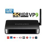 EVOLVEO Android Box H4, Quad Core multimediálne centrum Ultra HD 4K a HDR