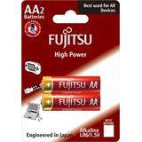Fujitsu High Power alkalická batéria 1.5V, LR06/AA, blister 2ks