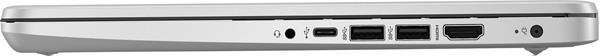 HP 14s-dq1001nc, i3-1005G1, 14.0 FHD, UMA, 8GB, SSD 512GB, W10, 2-2-0, Silver
