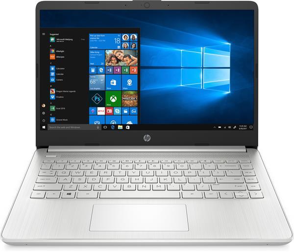 HP 14s-dq1004nc, i7-1065G7, 14.0 FHD, Iris Plus, 8GB, SSD 512GB, W10, 2-2-0, Silver