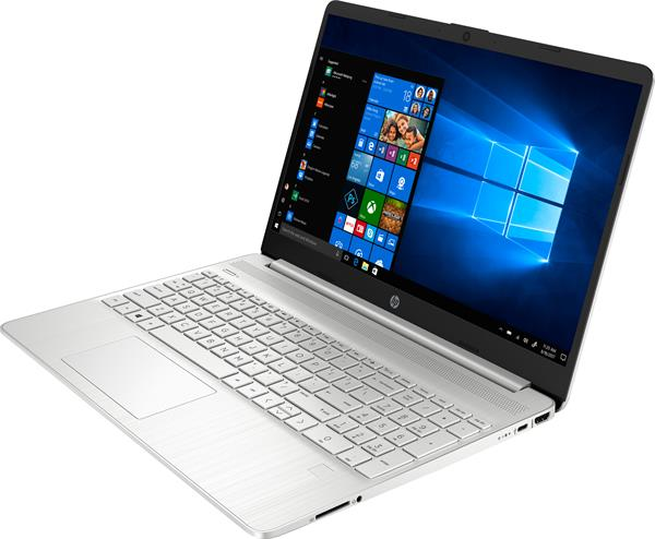 HP 15s-fq1007nc, i5-1035G1, 15.6 FHD, UMA, 8GB, SSD 512GB, W10, 2-2-0, Silver