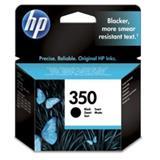 HP 350 Black Inkjet Print Cartridge with Vivera Ink- Blister