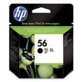 HP no. 56 black ink for PhotoRET IV printers (19ml)- Blister
